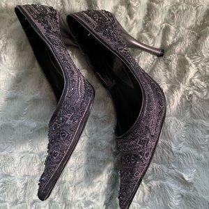 Gray Heels/Pumps by Nine West